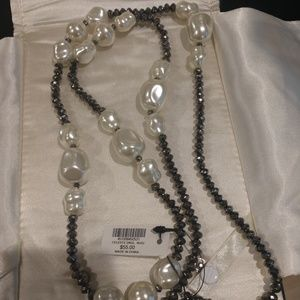 CHICO'S LONG NECKLACE, WAS $55